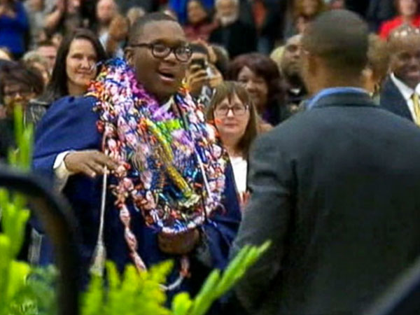 Dom Cooks, High School Senior Battling Brain Cancer, Gets Early Graduation