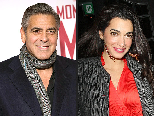George Clooney Engaged: His Round-the-World Romance with Amal Alamuddin