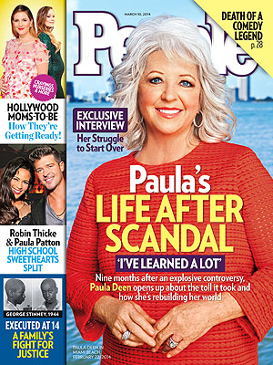 Paula Deen Post-Scandal: 'I'm Fighting to Get My Name Back'