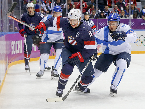 Team USA Loses Hockey Bronze to Finland