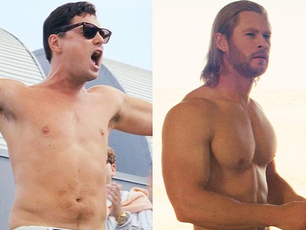 MTV Movie Awards Nominations: Shirtless Chris Hemsworth vs. Leo DiCaprio