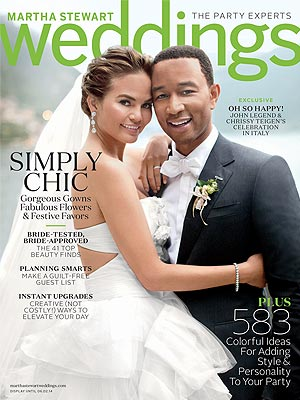 John Legend and Chrissy Teigen: Weather Delayed Our Wedding for Hours
