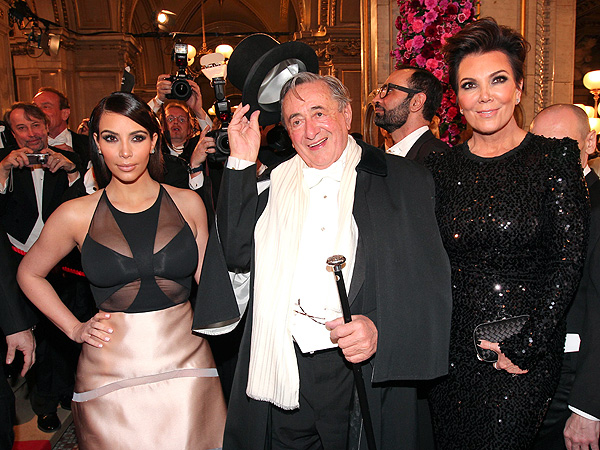 Kim Kardashian Walks Out of Vienna Ball After Blackface Incident