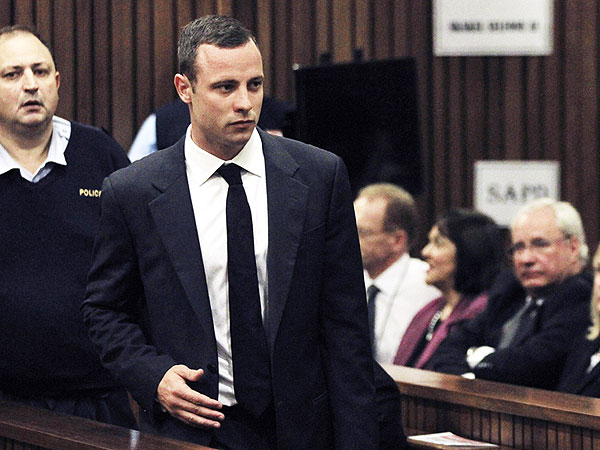 Oscar Pistorius 'Just Laughed' About Shooting from Car Sunroof, Friend Says