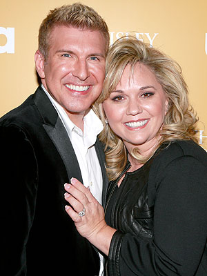 Julie Chrisley Todd and julie chrisley