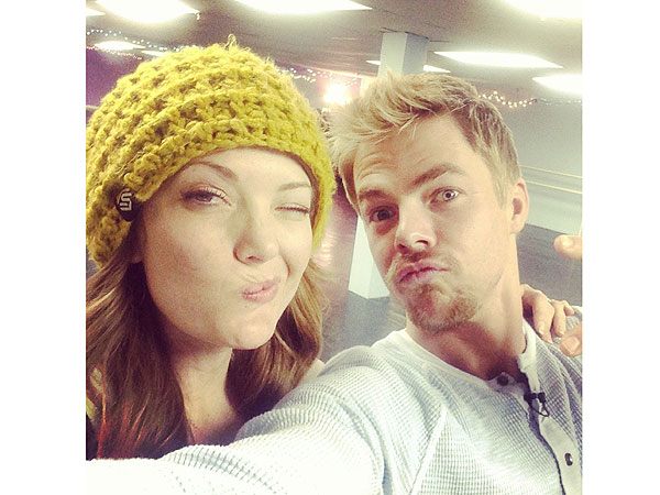 Amy Purdy Trains During Paralympics for DWTS with Derek Hough