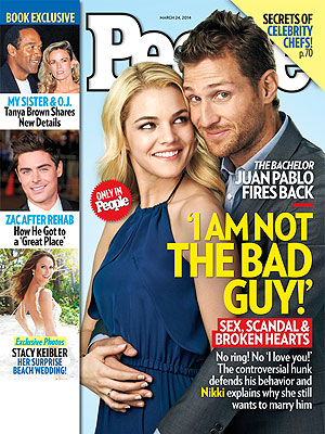 The Bachelor, Juan Pablo Galavis, PEOPLE Magazine Exclusive