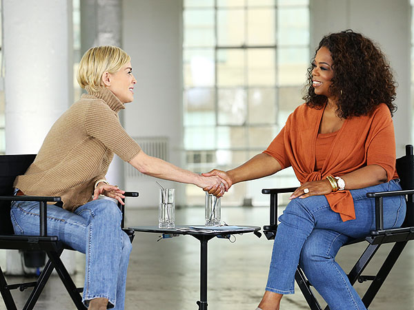 Sharon Stone Talks with Oprah of 'Aging Gracefully'