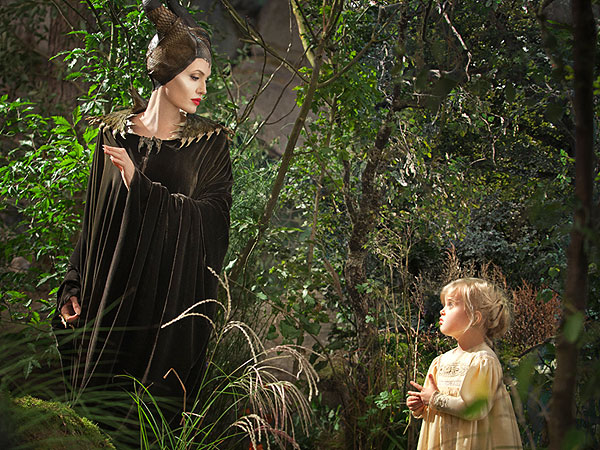 Angelina Jolie: How Brad Pitt Helped Coach Vivienne in Maleficent