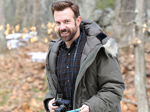 Jason Sudeikis Feasts on Italian in Boston After Shooting Scenes for New Movie