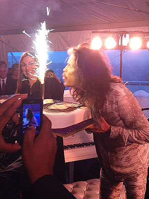 Steven Tyler Celebrates His 66th Birthday in Washington, D.C.