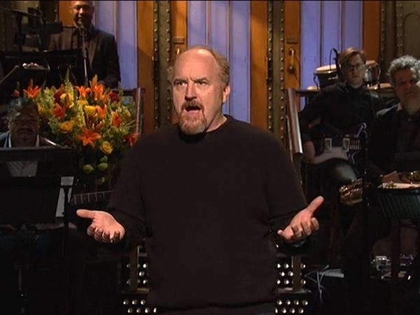 Louis CK Hosts Saturday Night Live, 'Black Jeopardy' Skit