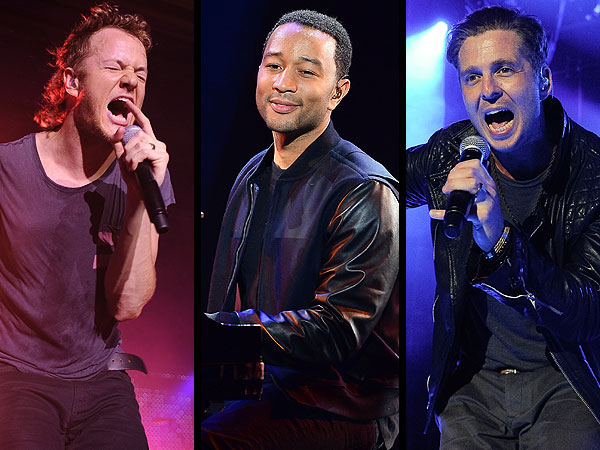 John Legend, Luke Bryan, Imagine Dragons & More Set to Perform at Billboard Music Awards