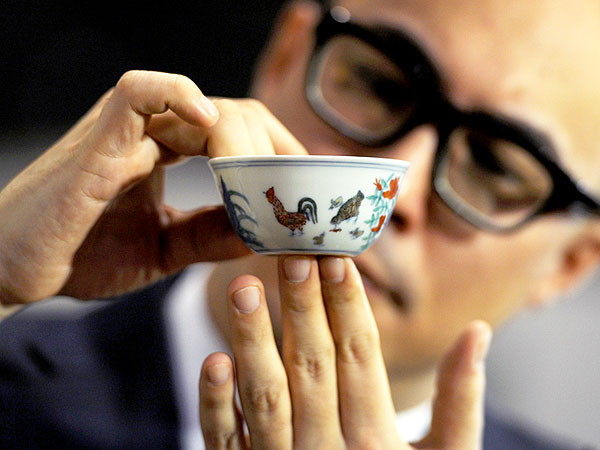 Ming Dynasty 'Chicken Cup' Sells for $36 Million
