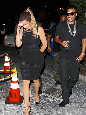 Khloé Kardashian and French Montana's VIP West Hollywood Dining Experience