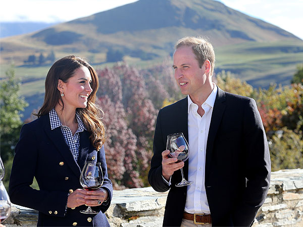 Prince William and Kate Tour a Vineyard – and Ride a Speedboat