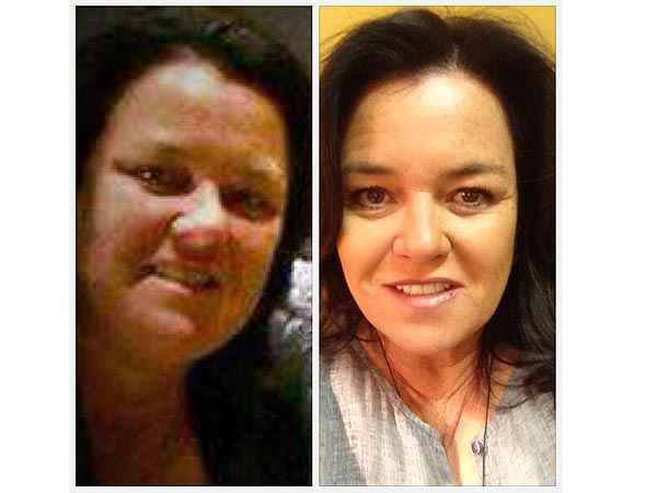 Rosie O'Donnell Loses Almost 50 Lbs.