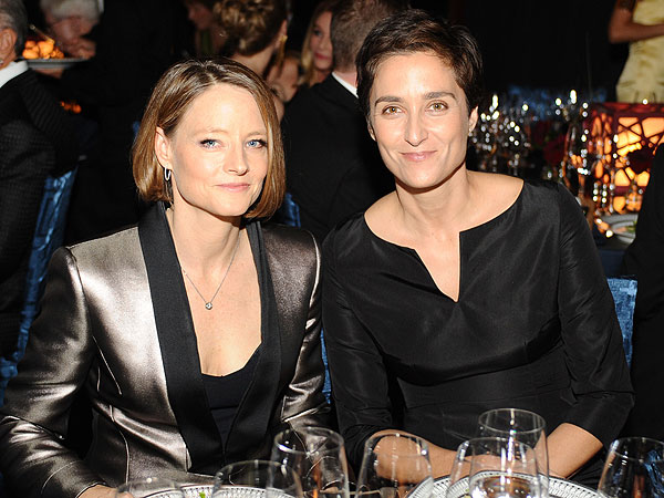 Jodie Foster and wife