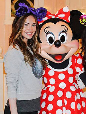 Megan Fox, Brian Austin Green Enjoy Trip to Disneyland