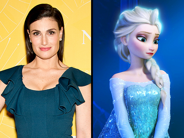 Idina Menzel Hopes to Star in the Frozen Musical