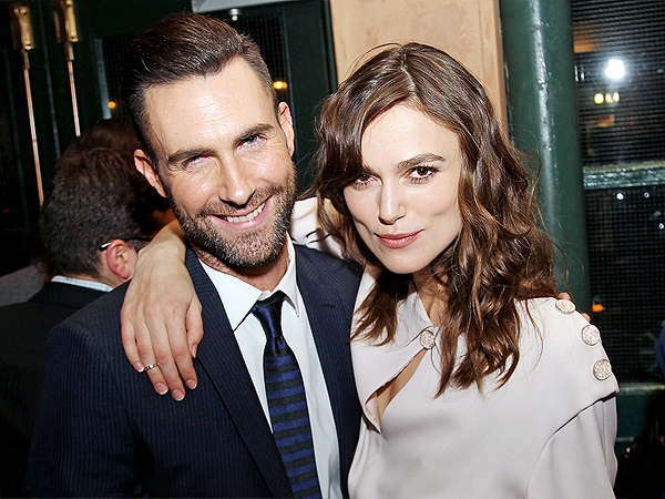 Adam Levine and Keira Knightley Had the Jitters Making Their New Movie