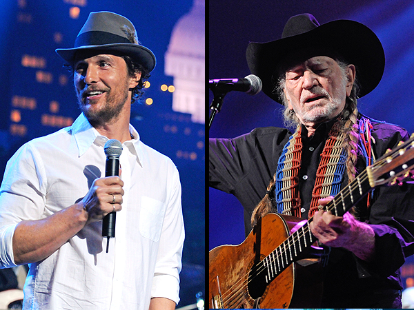 Matthew McConaughey Inducts Willie Nelson Into Austin City Limits Hall of Fame