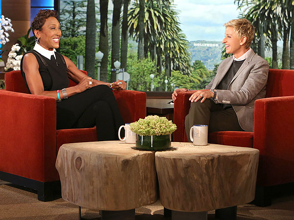 Robin Roberts Chats with Ellen DeGeneres About Recovery, Girlfriend Amber Laign