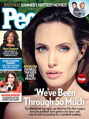 Angelina Jolie Talks Wedding Plans, Her Health and How Her Life Has Changed