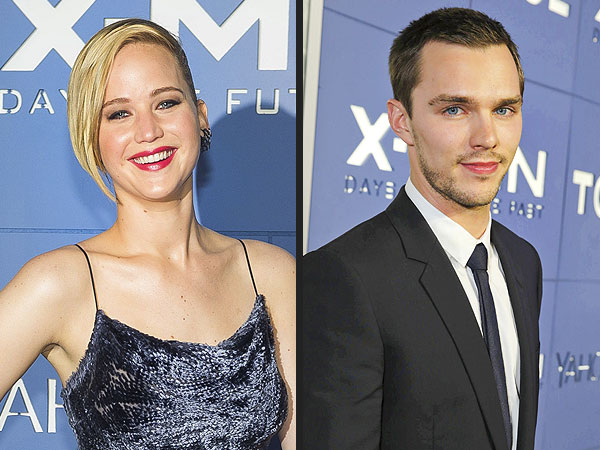 Jennifer Lawrence Says Working with Boyfriend Nicholas Hoult was 'Great'