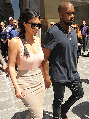 Kim Kardashian and Kanye West Draw Crowds in Paris and Florence