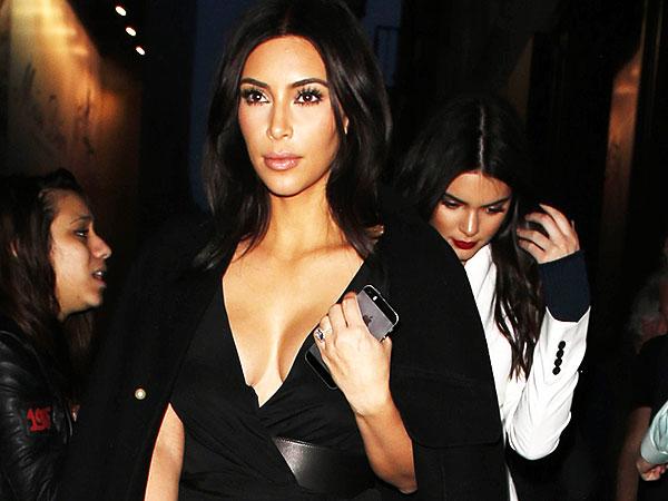 Kim Kardashian Takes Whole Family on a Carousel Ride Under the Eiffel Tower
