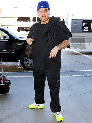 Rob Kardashian: I'm Aware That I'm Fat