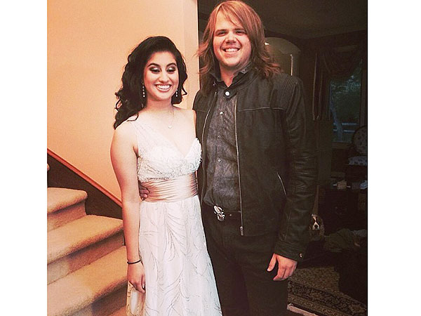 American Idol Winner Caleb Johnson Escorts Runner-Up Jena Irene Asciutto to Her Prom