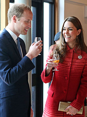 Princess Kate Dispels Pregnancy Rumors by Tasting Scottish Whiskey