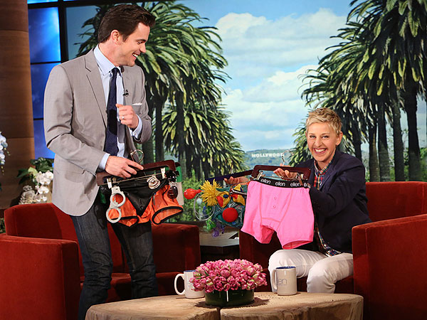 Matt Bomer Talks Magic Mike Sequel on Ellen DeGeneres Show