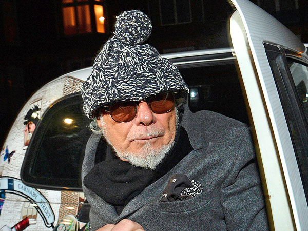 British Glam Rocker Gary Glitter Charged with 8 Sex Offenses