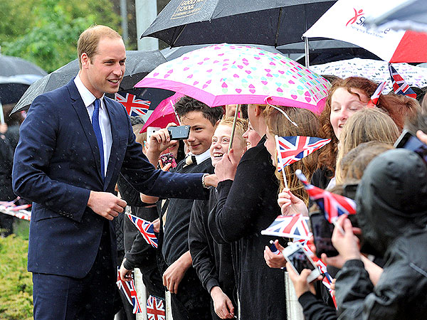 Prince William Tells High School Students He Loves Coldplay