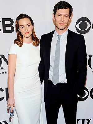 Leighton Meester, Adam Brody First Post-Wedding Red Carpet Appearance