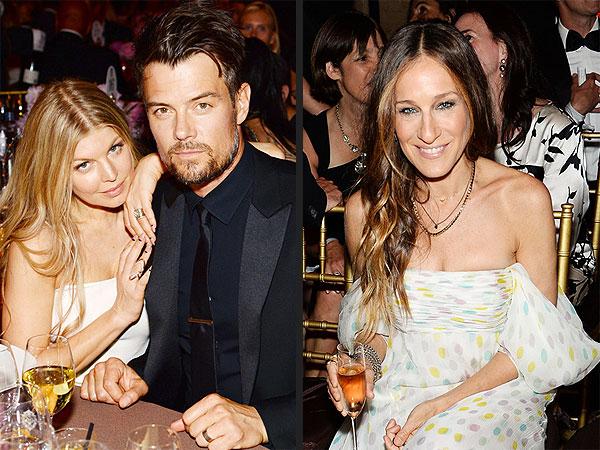 amFar Gala: Fergie, Josh Duhamel, Sarah Jessica Parker Help Raise $1.2 Million