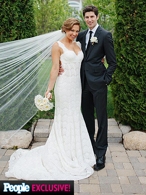 Ginger Zee Shares Beachy Wedding Portraits