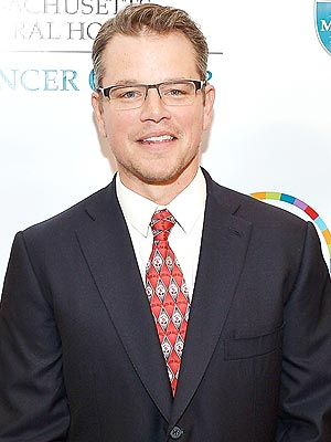 Matt Damon's Looking Forward to Father's Day: 'I Get to Put My Feet Up'