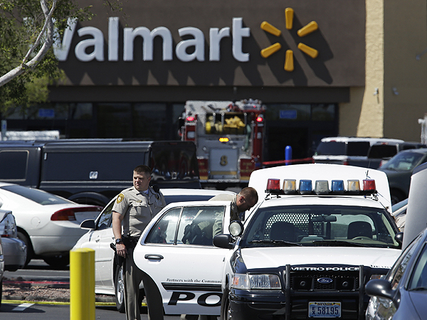 5 Dead in Shooting at Vegas Restaurant, Walmart