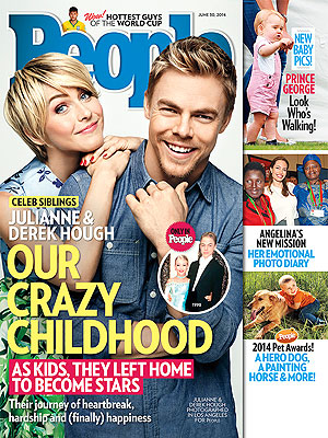 Derek & Julianne Hough Open Up About How Their Challenging Childhood Shaped Their Success