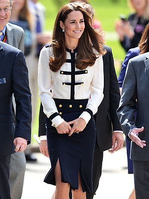 Kate Learns More About Her 'Granny' at World War II Code-Breaking Center Opening