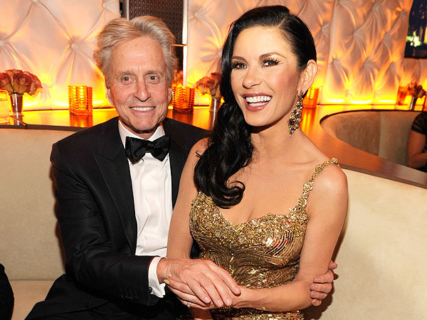 Catherine Zeta-Jones Talks Michael Douglas's Cancer