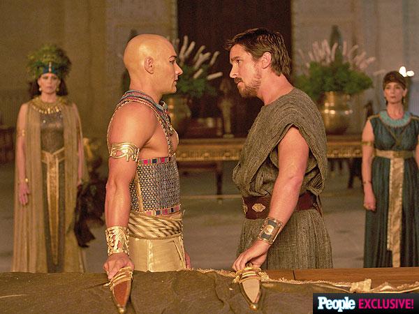 Exodus de Ridley Scott avec Christian Bale, Aaron Paul et Joel Edgarton.  Exodus-2-600