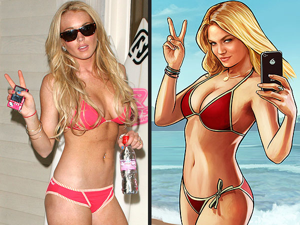 Lindsay Lohan Sues Grand Theft Auto Producers