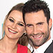 Inside Adam Levine and Behati Prinsloo's Rocking Recept