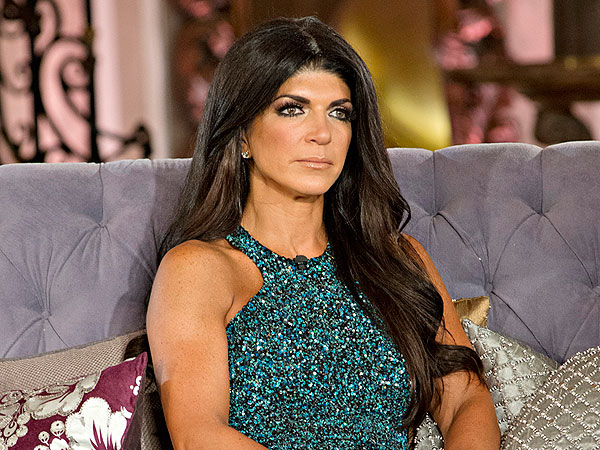 FIRST LOOK: Real Housewives' Teresa Giudice Breaks Down Before Fraud Sentencing (VIDEO)