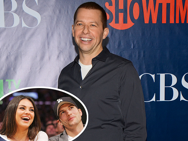 Jon Cryer: Ashton Kutcher Is 'Super Excited' for Baby with Mila Kunis